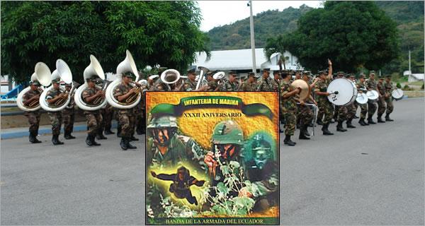 disco homenaje en aniversario de creacion del cuerpo de infanteria de marina