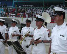 La Banda Blanca de la Armada de Ecuador